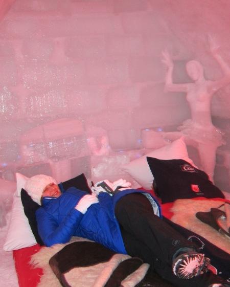 nye ice hotel