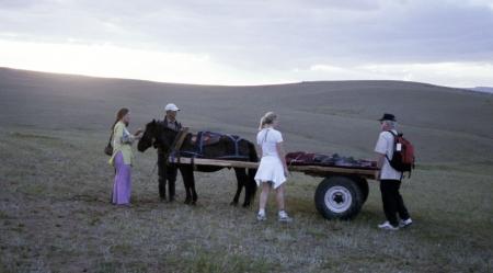 mongolia cart